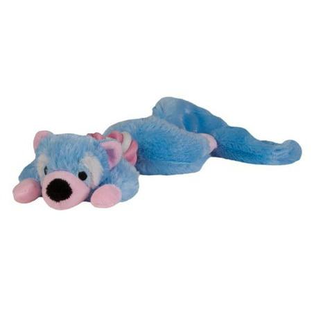 - CHOMPER Rope Body Plush Puppy Toy, Blue