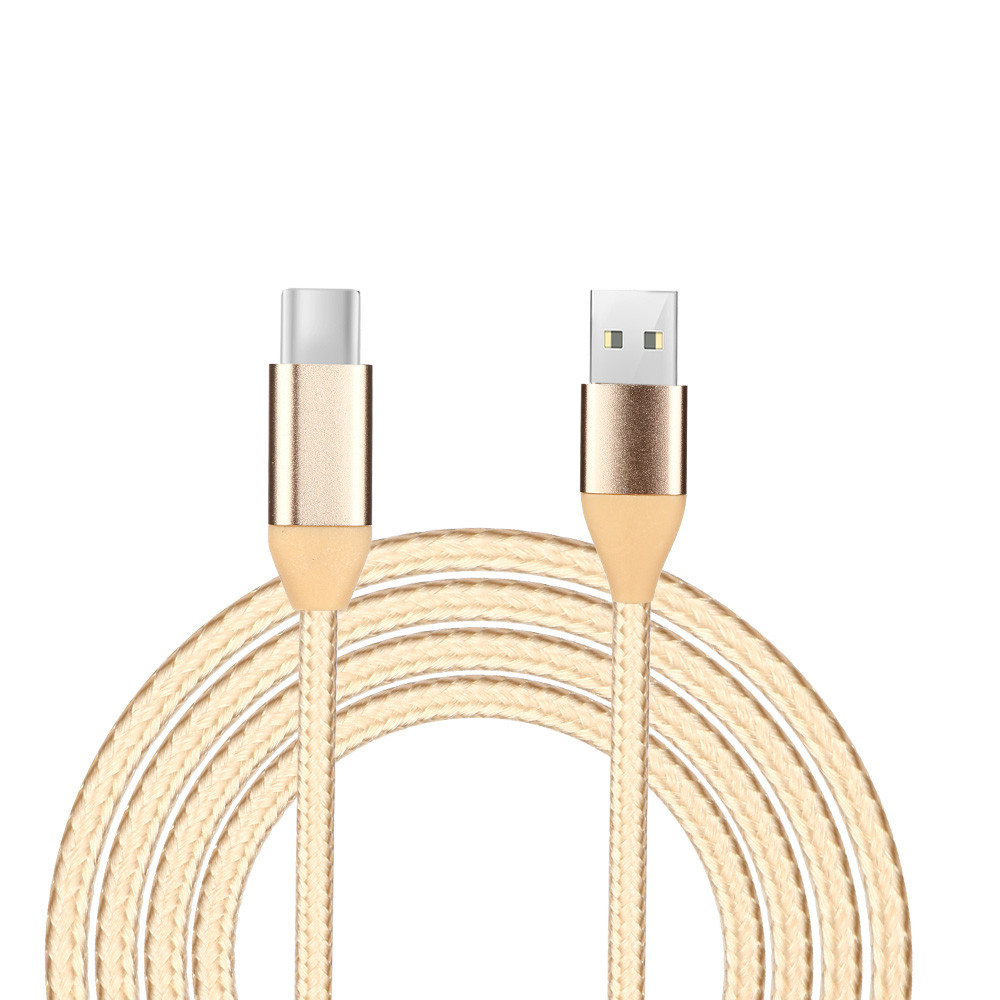 DZT1968 1M 2A USB-C USB 3.1 Type C Data&Sync Faster Charger Cable For Samsung Galaxy
