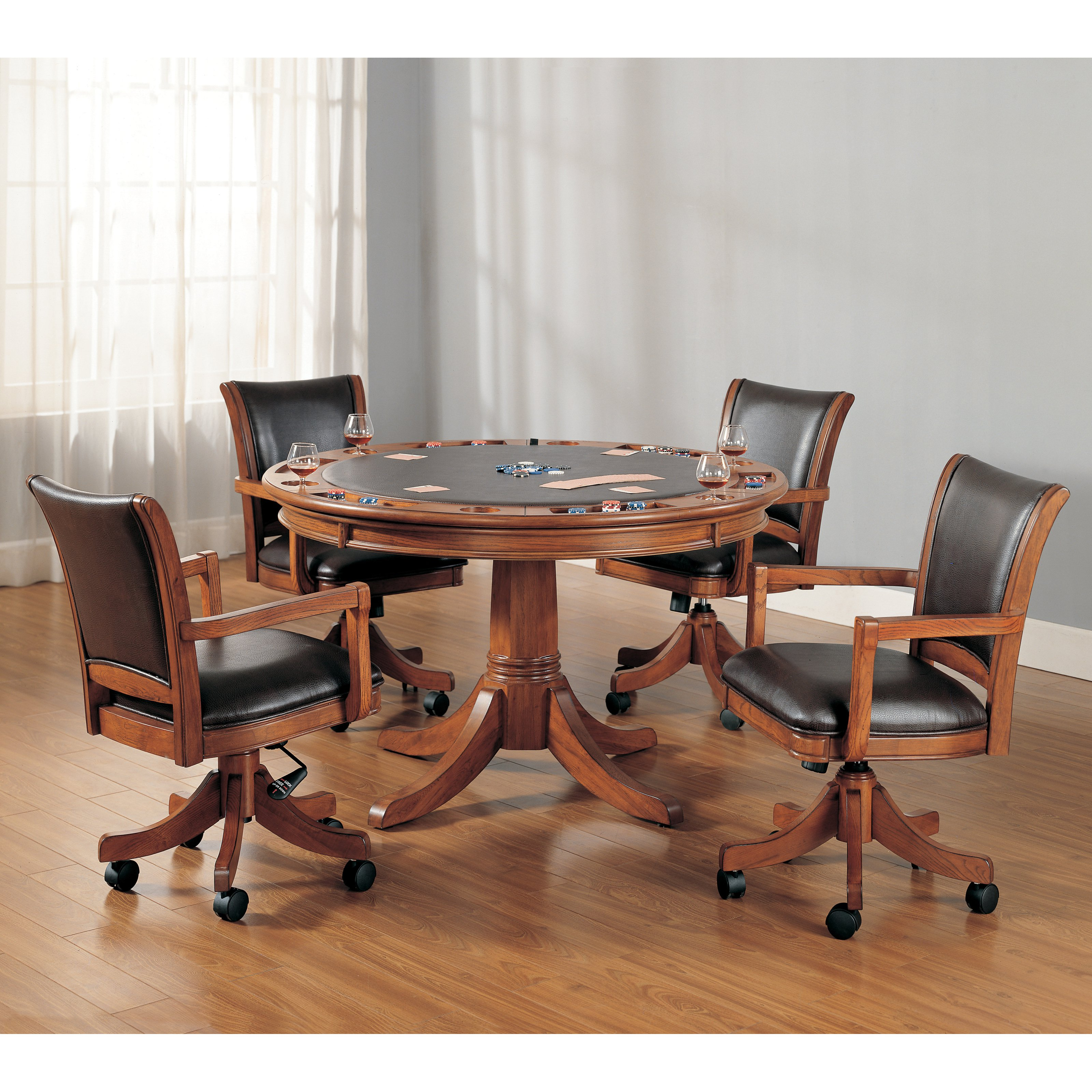 Hillsdale Park View 5 Piece Game Table Set by Hillsdale