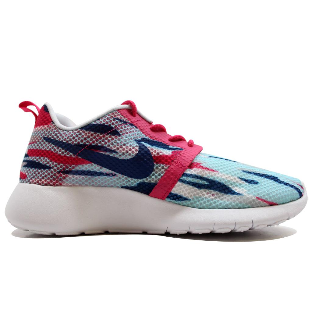 a4e2a9e84709 Nike - Nike Grade School Roshe One 1 Flight Weight Copa Vivid Pink-Insignia  Blue-Pure Platinum 705486-401 - Walmart.com