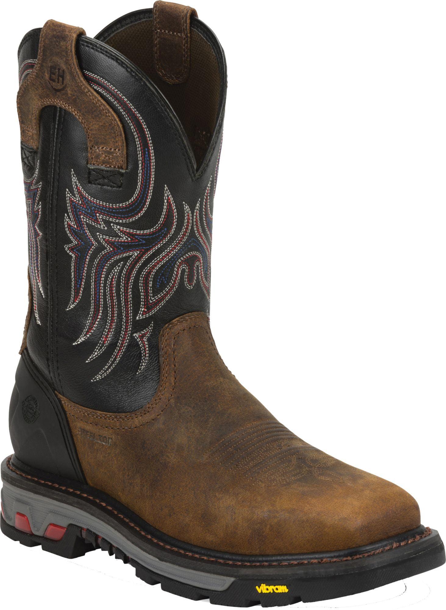 Steel Toe Western Work Boots - Walmart