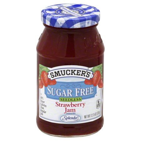 Smuckers Sugar Free Seedless Strawberry Jam  12 75 Oz