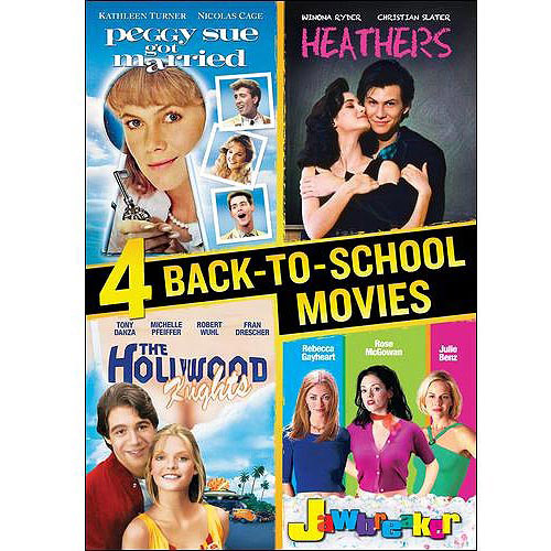 4 Back-To-School Movies: Jawbreaker / The Hollywood Knights / Peggy Sue Got Married / Heathers (Widescreen)