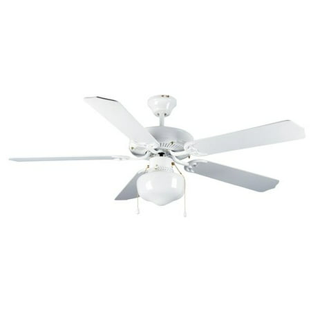 Mainstays 52 dual mount one light ceiling fan white walmart mainstays 52 dual mount one light ceiling fan white aloadofball