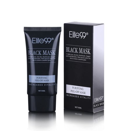 Facial Cleansing Mask - Purifying Black Peel-off Mask Blackhead Remover Facial Cleansing Charcoal Masks