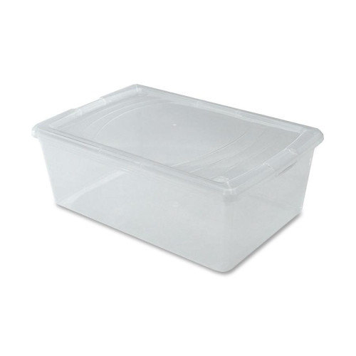 Iris Modular Boxes, Snap-tight Lid, 10-5/8''x16-1/8''x5-7/8'', Clear