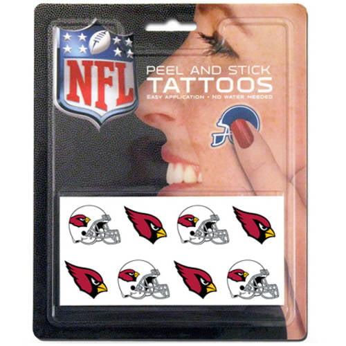 NFL Arizona Cardinals Tattoo Set, 8-Piece
