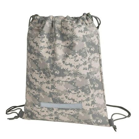 ce351c8d52b0 ImpecGear Heavy Duty Drawstring Backpack Camouflage Army Navy Military Sack  Bag, Men Women Backpacks, Drawstring Gym Bag