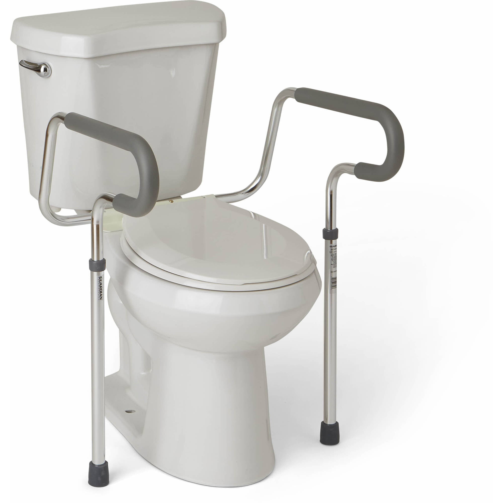 Carex Bathroom Toilet Safety Rail Frame - Walmart.com