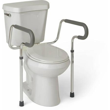 Stupendous Medline Toilet Safety Frame Rails Bralicious Painted Fabric Chair Ideas Braliciousco