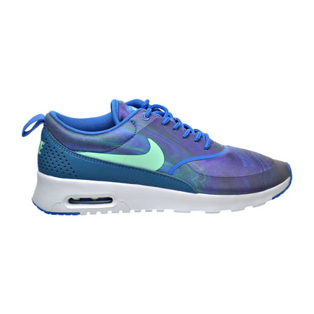Nike Air Max Thea Print Women's Shoes Blue Spark/Green Glow 599408-405