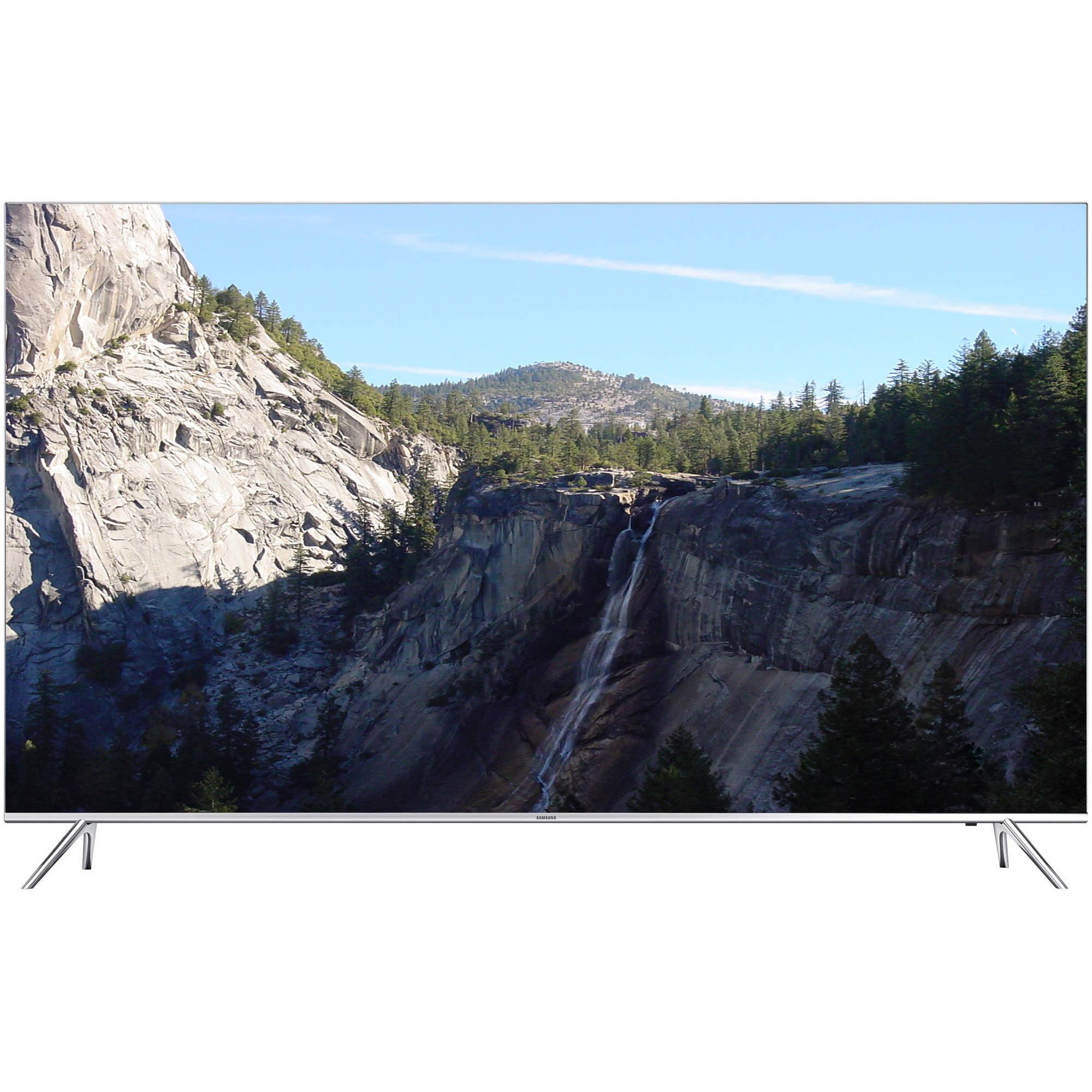 Refurbished Samsung 60 Class  -  4K Ultra HD, Smart, LED TV  -  2160p, 120Hz (UN60KS8000FXZA)