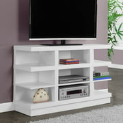 "Monarch Tv Stand White For TVs Up To 48""L"