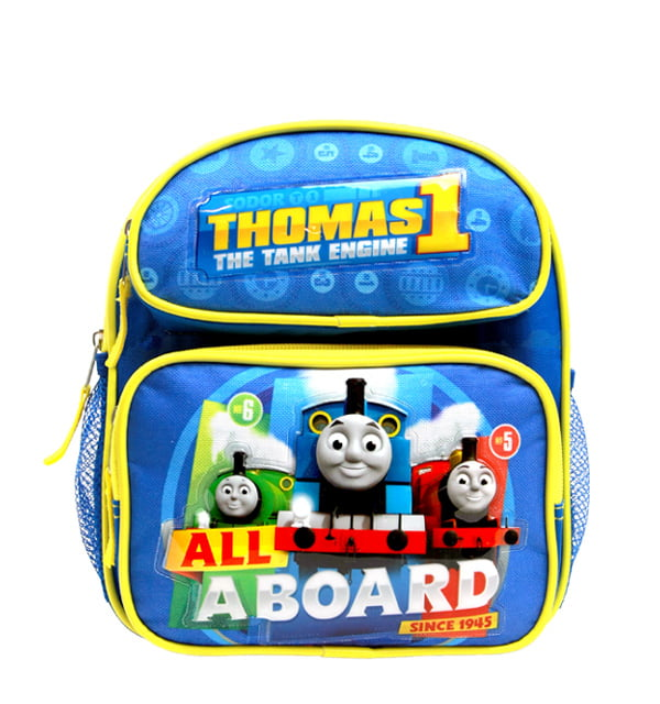 "Mini Backpack Thomas The Tank Engine All a Board Blue 10"" School Bag TECF02 by Accessory Innovations"