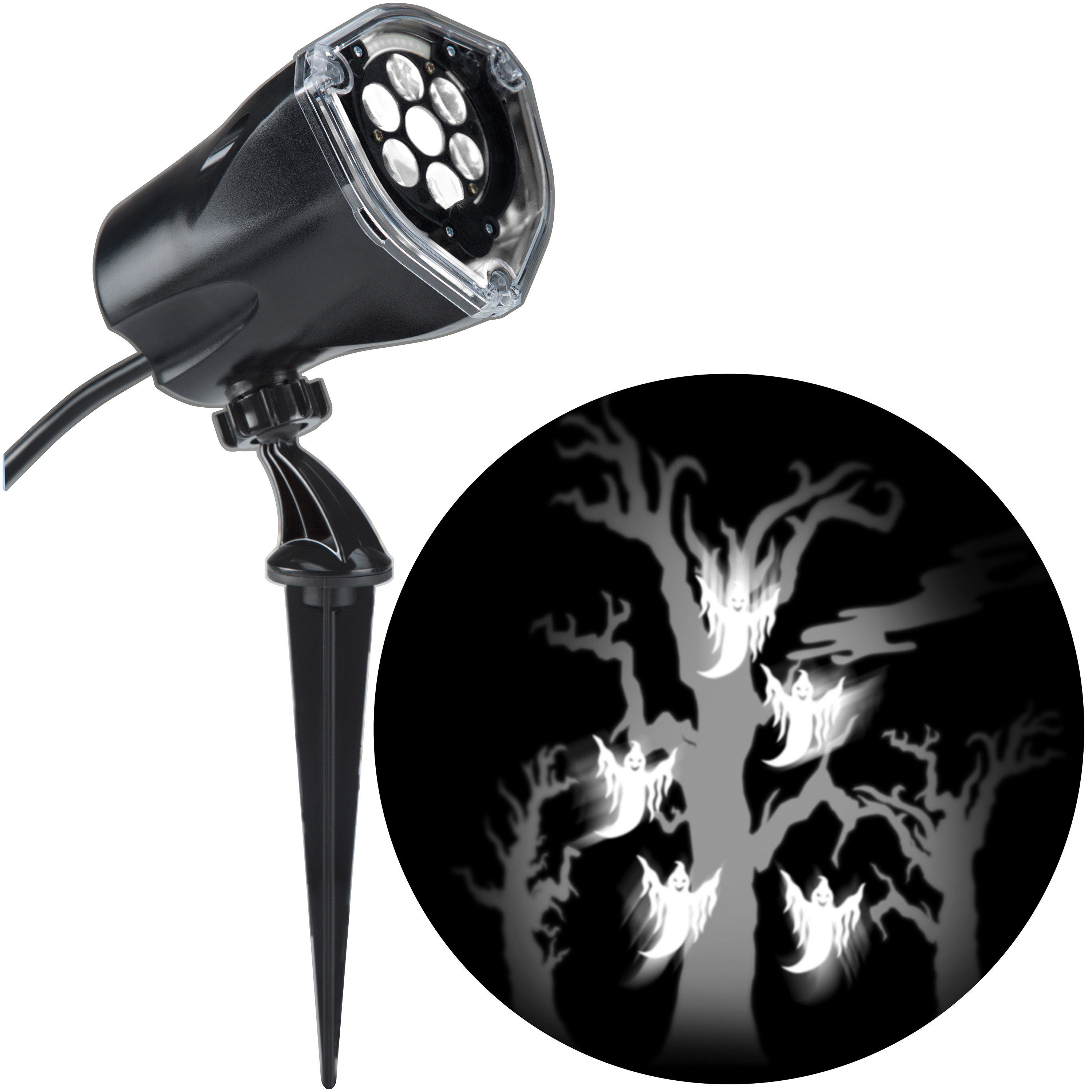 halloween light projector spooky show projection whirl a motion