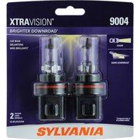 SYLVANIA 9004 XtraVision Halogen Headlight Bulb, Pack of 2