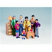 Marvel Education Asian Family - Pretend Play Figure Set