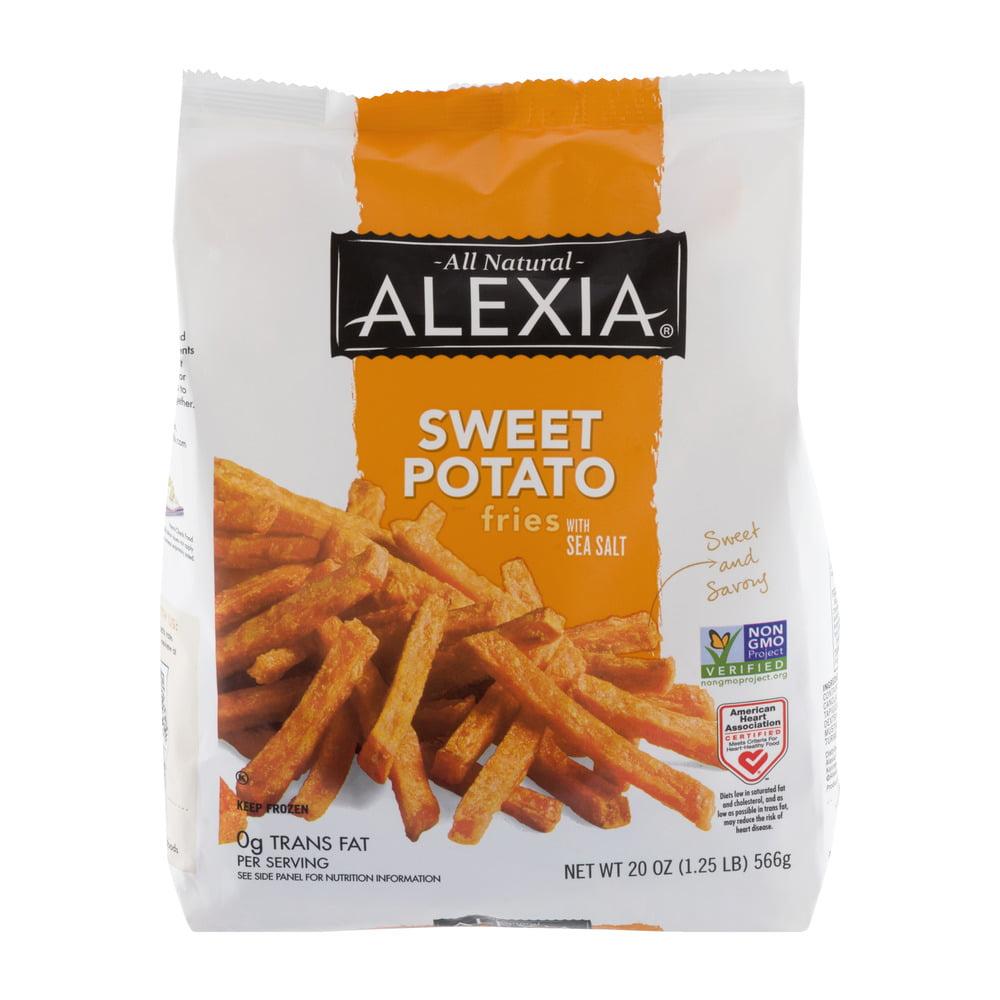 Alexia® All Natural Sweet Potato Fries with Sea Salt 20 oz. Bag