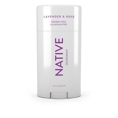 Native Lavendar & Rose Deodorant for Women - 2.65oz