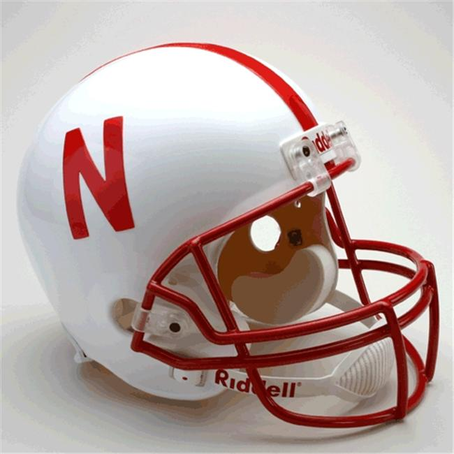 Victory Collectibles 31639 Rfr C Nebraska - Cornhuskers Full Size Replica Helmet by Riddell