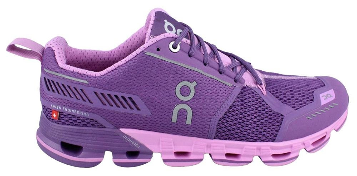 On Running Size Womens Cloudflyer Sneaker Purple/Rose Size Running 7.5 3e0555