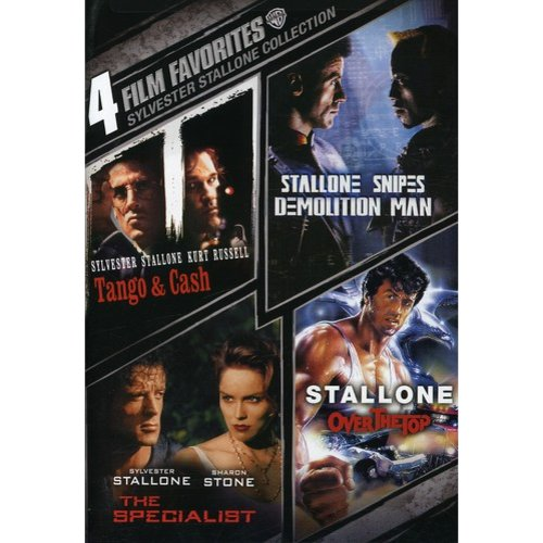 4 Film Favorites: Sylvester Stallone: Tango & Cash / Demolition Man / Specialist / Over The Top (Widescreen)