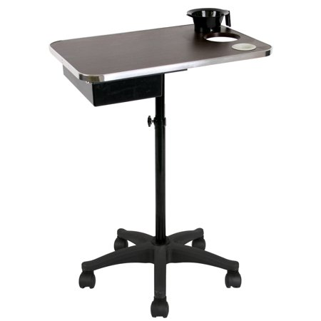 Salon Beauty Equipment Wooden Service Tray w/ Coloring Bowl TY-55