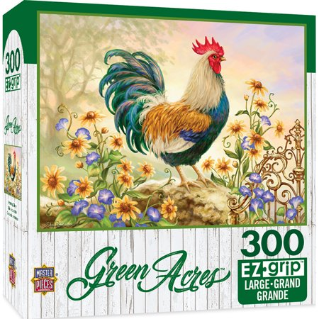 Green Acres Linen - Morning Glory Large 300 Piece EZGrip Jigsaw