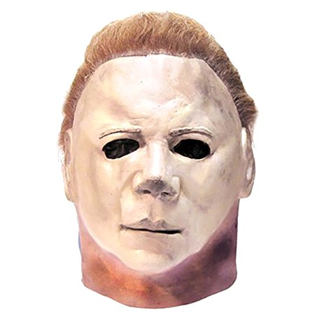 Halloween II (2) Michael Myers The Shape Official Deluxe Latex (Michael Myers Mask Aus Rob Zombie's Halloween)