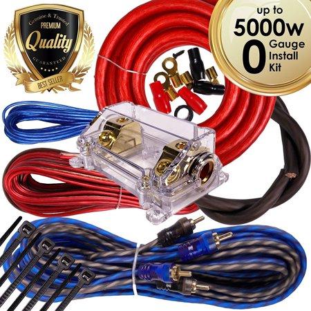 complete 5000w 0 gauge car amplifier installation wiring. Black Bedroom Furniture Sets. Home Design Ideas