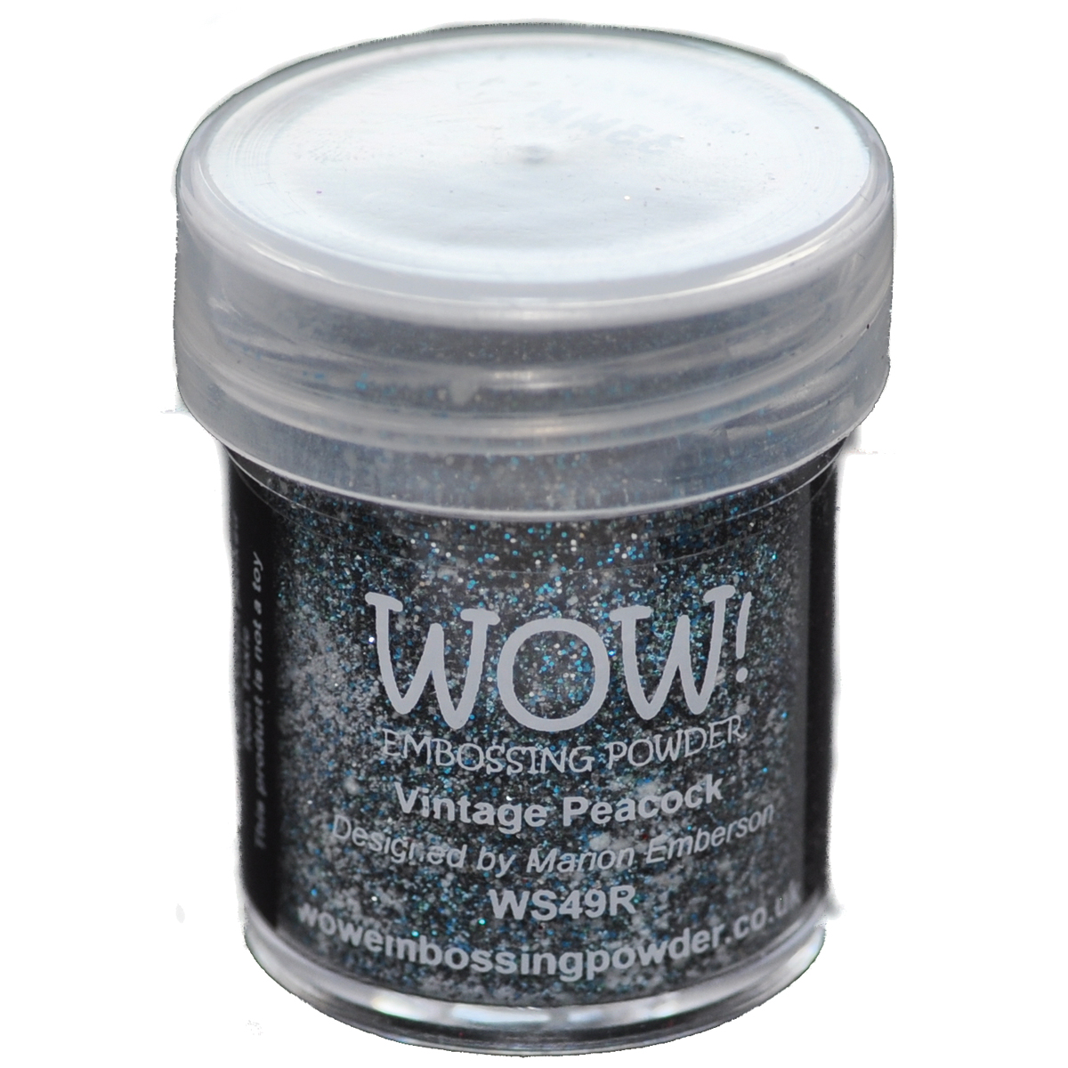 WOW! Embossing Powder 15ml-Vintage Peacock