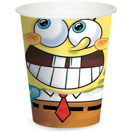 Spongebob Thank You Cards (SpongeBob Classic 9 oz Cups,)