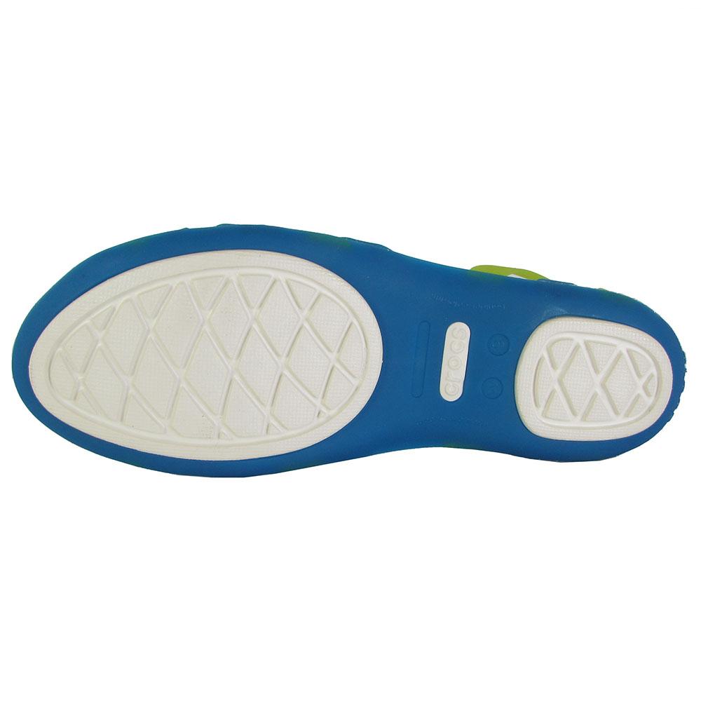 22274e27c9d22 Crocs Womens Huarache Flat Open Toe Sandal Shoes - Walmart.com