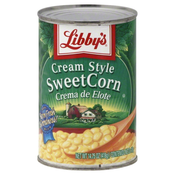 Libby's® Cream Style Sweet Corn 14.75 oz. Can