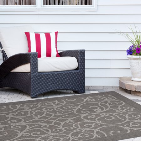 Balta US, Inc Signature Home Redmond Grey Area Rug - 5'3 x (Balta Garden Rug)