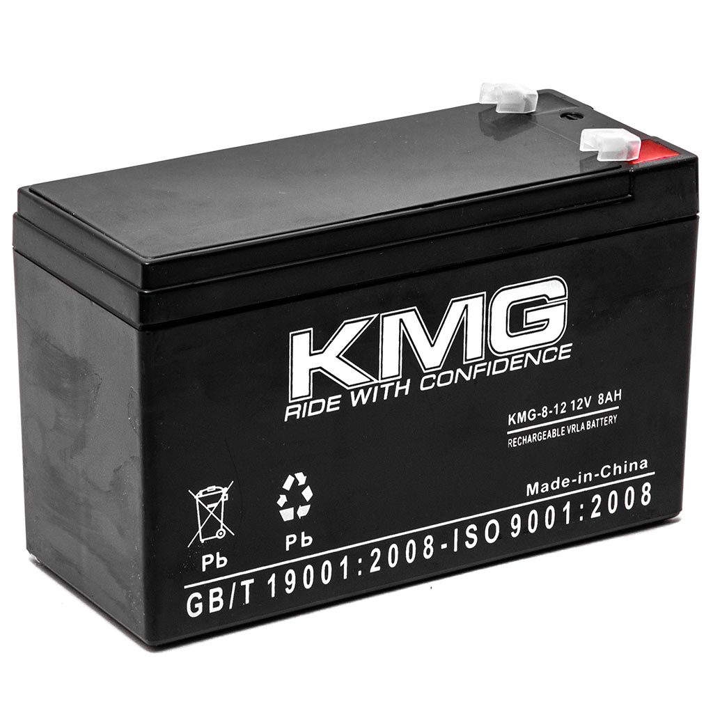 KMG 12V 8Ah Replacement Battery for Razor Scooters 13114501