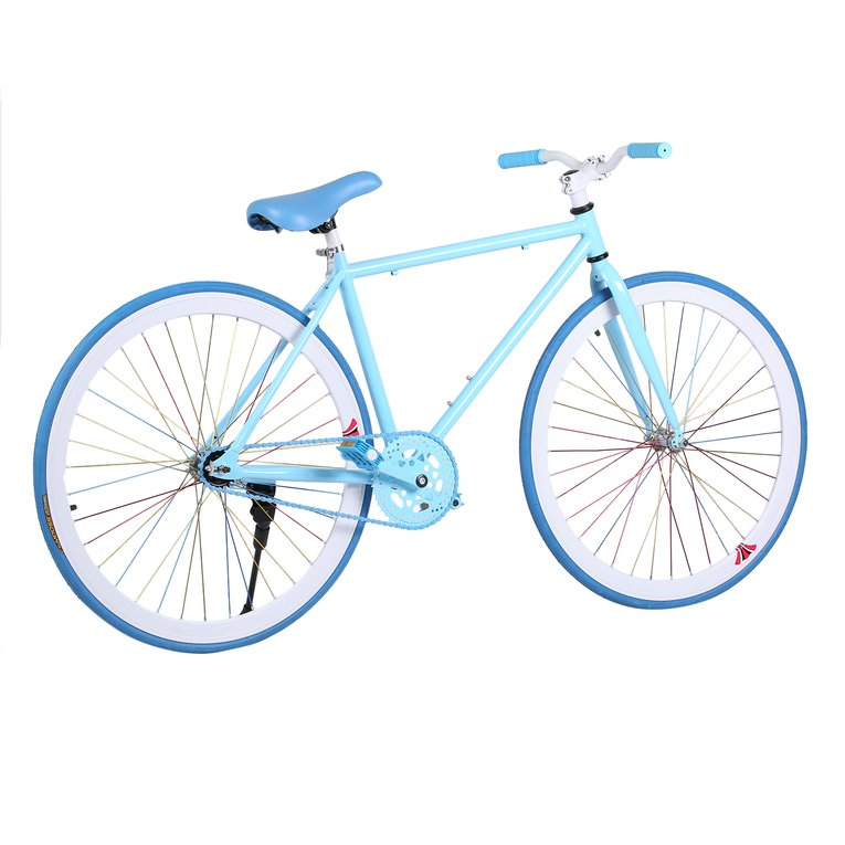 Blue 26 Inch Reverse Brake Bicycle Outdoor Sports Exercise Cycling Road Bike