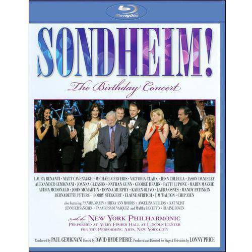 Sondheim!: The Birthday Concert (Blu-ray) (Widescreen)