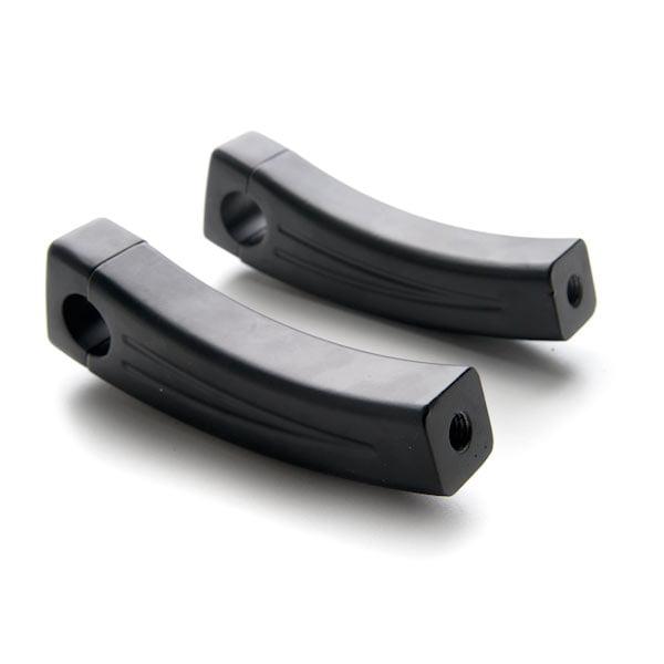 Parts Krator 3.5 Black Motorcycle Handlebar Pullback Risers For ...