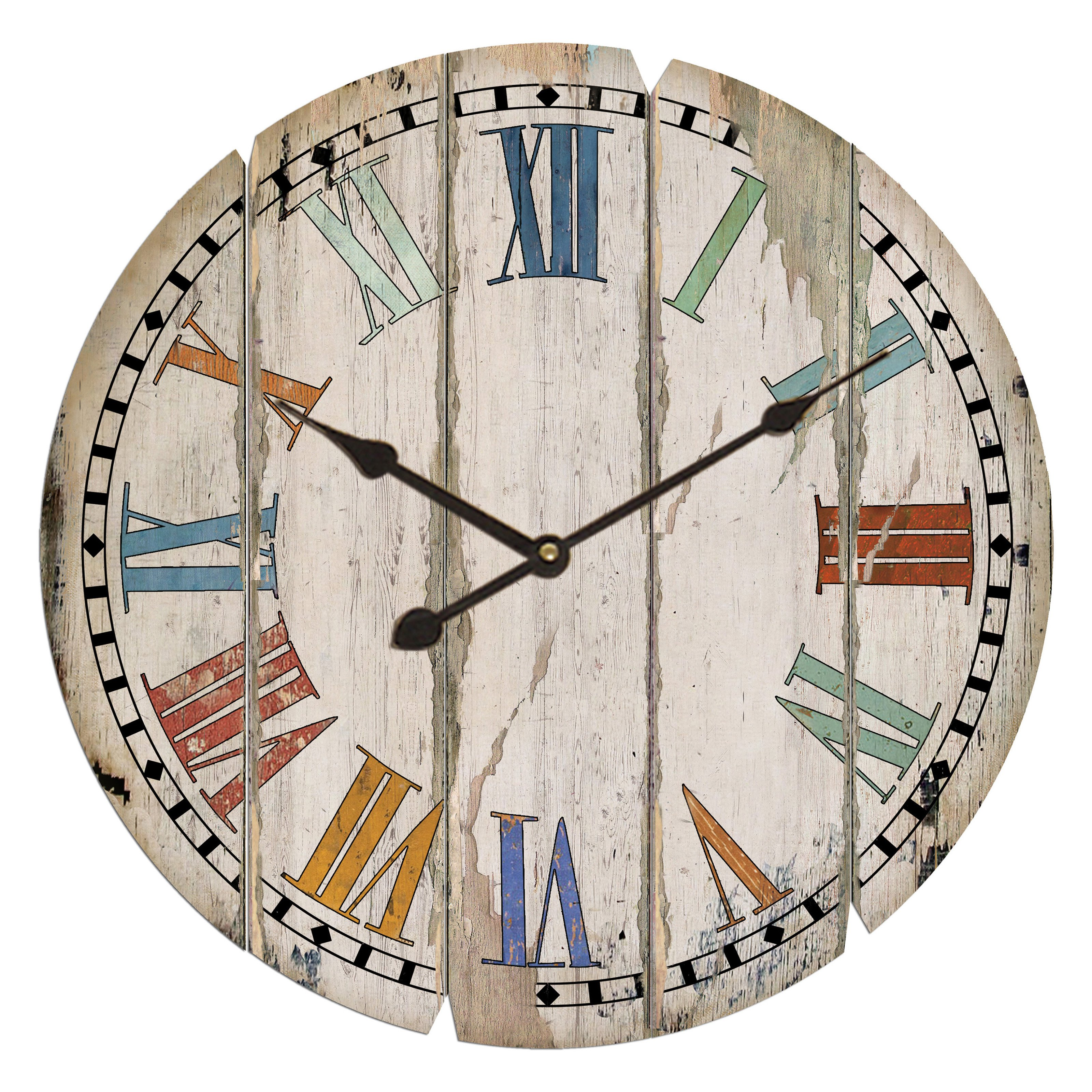 VIP International Wood Wall Clock