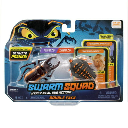 Wicked Cool Swarm Squad Twister 2 Vs Pusher 3 ()