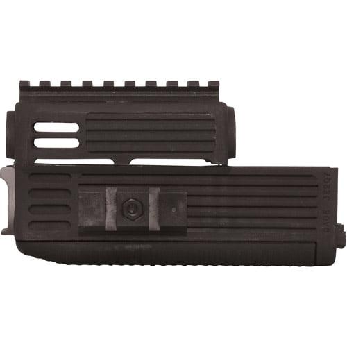 Tapco AK Handguard Quad Rail, Black