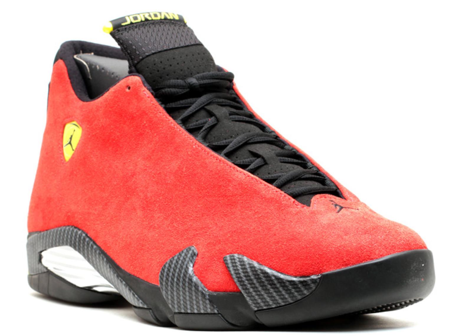 ae29225d0 Air Jordan - Men - Air Jordan 14 Retro  Ferrari  - 654459-670 - Size 13