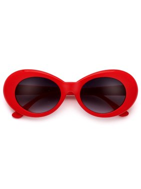 c5bf5fbf8e Product Image Hot and Trendy Red Oval Cobain Clout Sunnies. sunglass spot