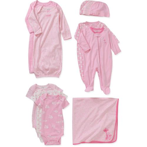Child of Mine Carters Newborn Girls' 11pc Essential Set