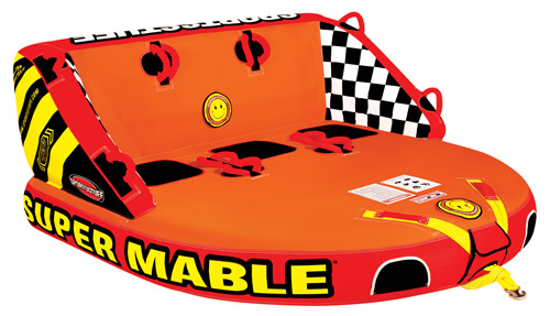 Click here to buy SUPER MABLE Towable by AIRHEAD SPORTS GROUP.