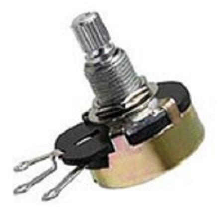 Ohm 25 Watt Wirewound Resistor - 25-Ohm 3-Watt Rheostat - ±5% Tolerance - Wirewound Variable Resistor Potentiometer