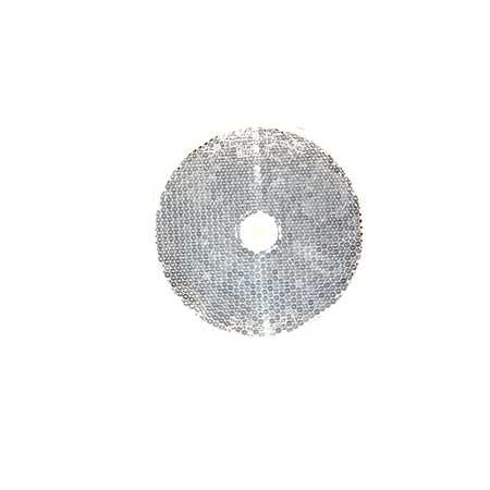 Round Reflector (41-0035-20 Round Color Reflector, White)