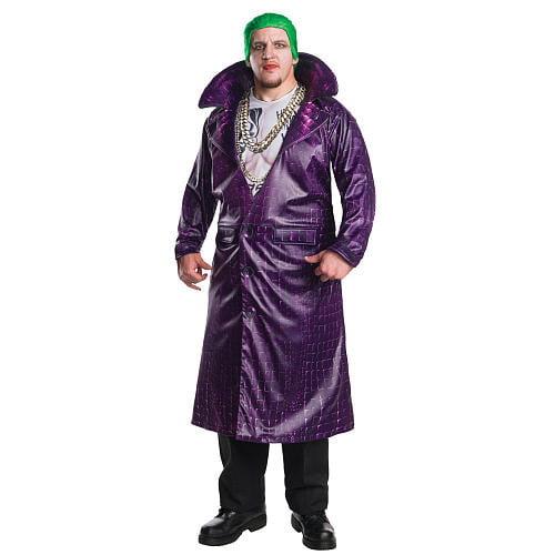 Suicide Squad Joker Deluxe Men S Adult Halloween Costume Plus