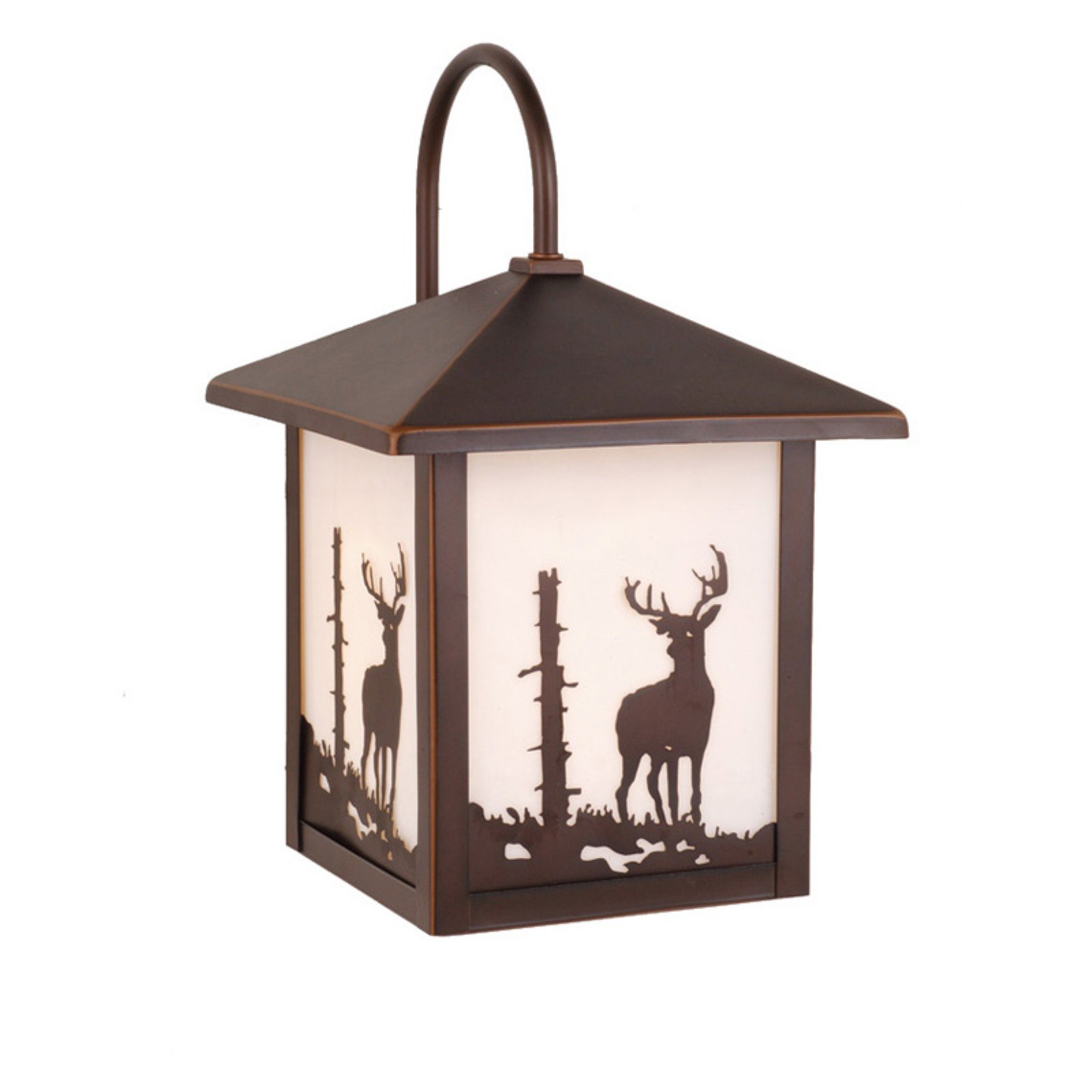 Vaxcel Bryce Outdoor Wall Light - 8W in. Burnished Bronze